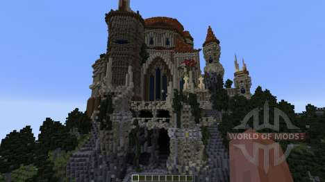 Wizards Temple для Minecraft