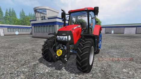 Case IH Maxxum 110 v2.3 для Farming Simulator 2015