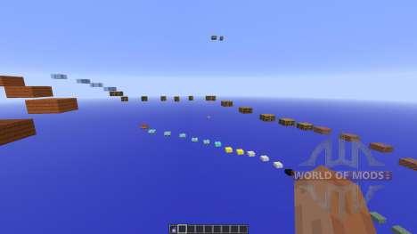 SkyBlock Sprint Parkour для Minecraft