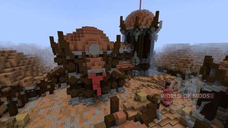 Minecraft Capture the Flag with Guns[1.8][1.8.8] для Minecraft