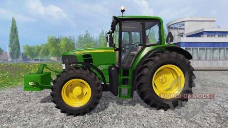 John Deere 6430 для Farming Simulator 2015