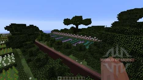 Mansion in the woods для Minecraft