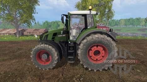 Fendt 828 Vario v2.5 для Farming Simulator 2015