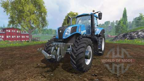 New Holland T8.435 v2.0 для Farming Simulator 2015