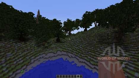 Alasya I First WorldPainter Map для Minecraft