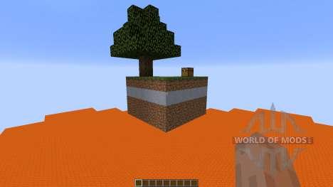 Hunterifics Skyblock Survival для Minecraft
