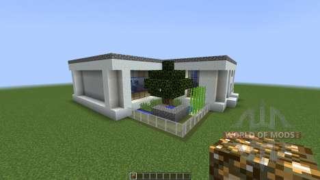 MODERN HOUSE 3 THE CABIN [1.8][1.8.8] для Minecraft