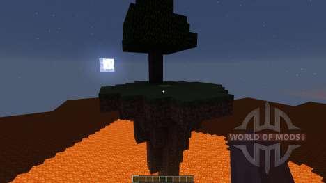 Ultimate Creative World lava для Minecraft
