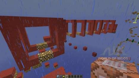 Stained Clay Parkour для Minecraft
