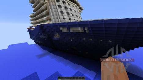 Cruise Ship Mein Schiff 3 для Minecraft