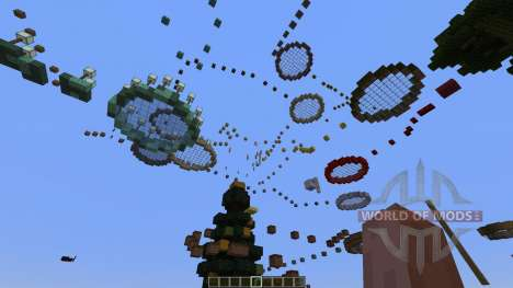 Themed Level Parkour [1.8][1.8.8] для Minecraft
