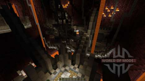 Prison of the Nether Monsters для Minecraft