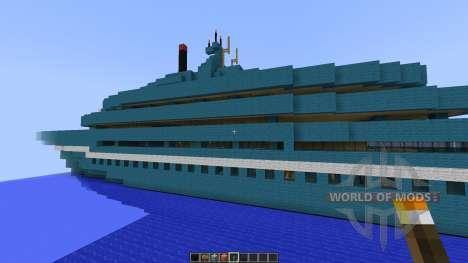 Cruise Yacht full interior [1.8][1.8.8] для Minecraft