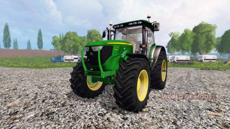 John Deere 6130R для Farming Simulator 2015