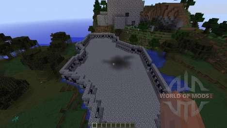 HARDCORE MAP: Minecraft Battle Coliseum для Minecraft