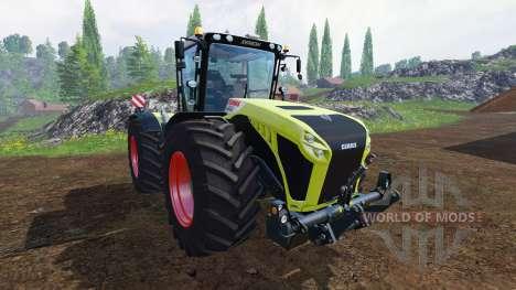 CLAAS Xerion 4500 v1.1 для Farming Simulator 2015