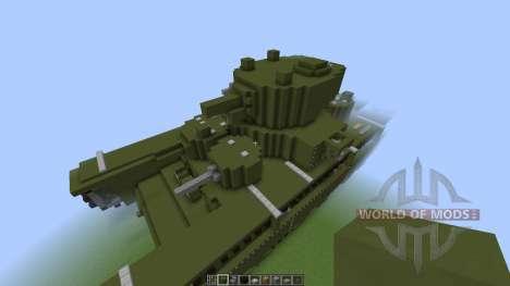 Soviet T-35 Heavy Tank [1.8][1.8.8] для Minecraft