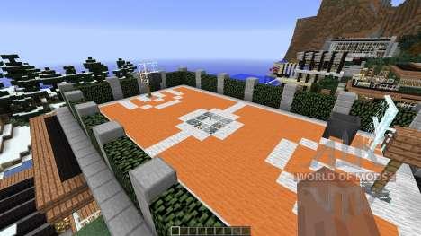 Luxurious Cove House для Minecraft