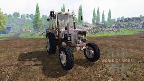 МТЗ-80 v2.2 для Farming Simulator 2015