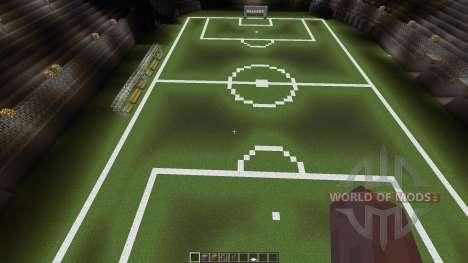 Huge soccer staduim для Minecraft
