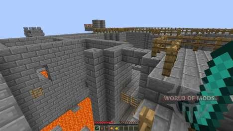 Bkajnls Castle CTF map [1.8][1.8.8] для Minecraft