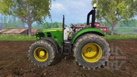 John Deere 5055 для Farming Simulator 2015