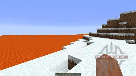 Lava island surival для Minecraft