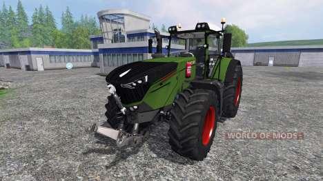 Fendt 1000 Vario v1.5 для Farming Simulator 2015