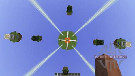 Natural Islands Skywars map [1.8][1.8.8] для Minecraft