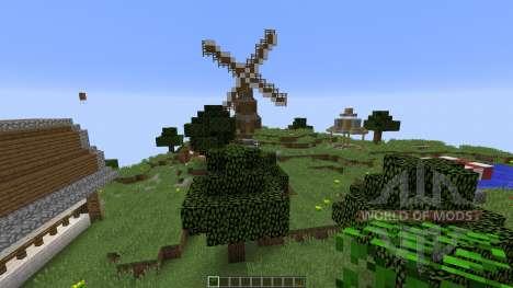 Sky Village для Minecraft