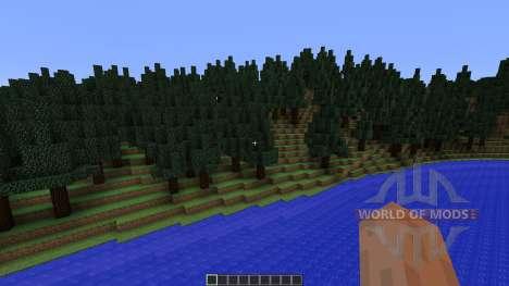 Mount Helium Part of Project Minecraftia для Minecraft
