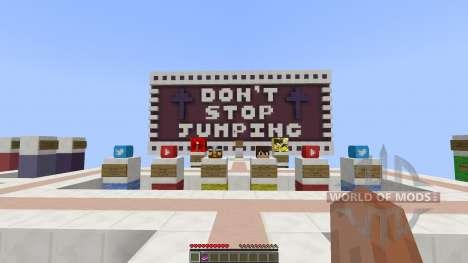 Dont Stop Jumping Parkour [1.8][1.8.8] для Minecraft
