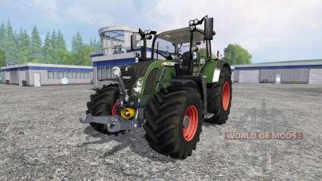 Fendt 718 Vario v3.0 для Farming Simulator 2015