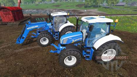New Holland T6.160 v1.1 для Farming Simulator 2015