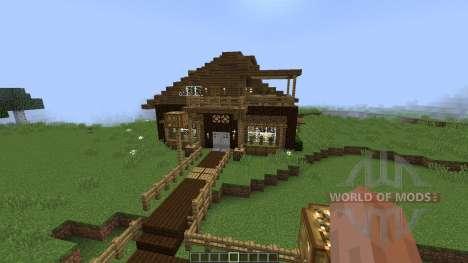 Cozy Cottage Luxurious Modern House [1.8][1.8.8] для Minecraft