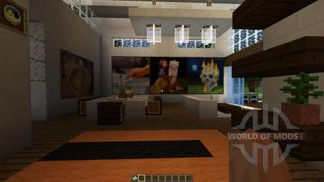 Mr Moopicorns White House of Costa [1.8][1.8.8] для Minecraft