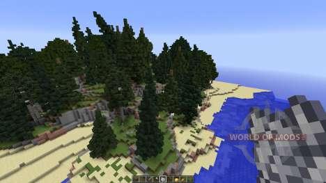 Amtal island для Minecraft