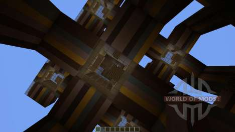 Interstellar The Tesseract для Minecraft