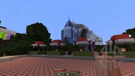 Self-Created-Disneyland для Minecraft