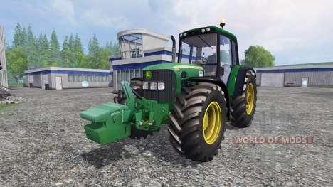 John Deere 6930 v2.0 для Farming Simulator 2015