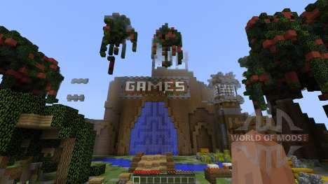 Floating Blitz GamesLobby [1.8][1.8.8] для Minecraft