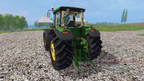 John Deere 8530 v1.4 для Farming Simulator 2015