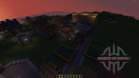 UNFINISHED CASTLE OF CASTLENSS для Minecraft