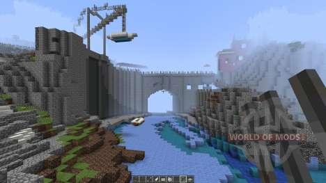 A cinque terre Manarola in Italy [1.8][1.8.8] для Minecraft