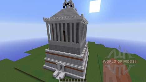 Wonders of the World Mausoleum для Minecraft