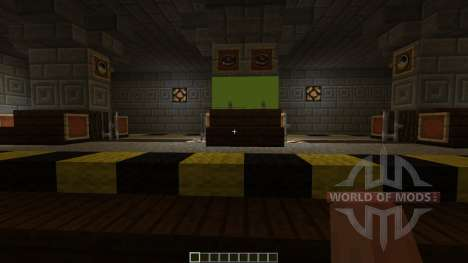 Subway Minecraft 1v1 Map для Minecraft