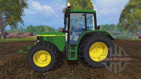 John Deere 6410 для Farming Simulator 2015