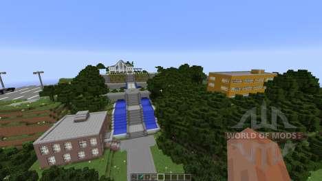 Angel Beats School [1.8][1.8.8] для Minecraft