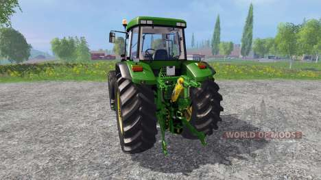John Deere 7810R v1.5 для Farming Simulator 2015