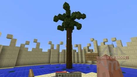 IslandWars 1v1 для Minecraft